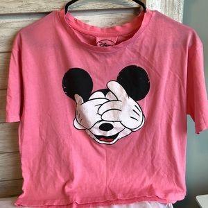 Mickey Mouse Face T-shirt.